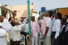 Republic Day Celebaration at Rajiv Gruhakalpha Sherlingampally