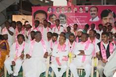 Sampoorna Telangana Paada Yatra at Vatti Nagulapally