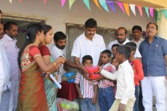 Celebration in School at Gopanpally Sherlingampally
