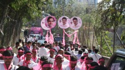 KCR Welcome Rally (TRS Office to Gunpark)