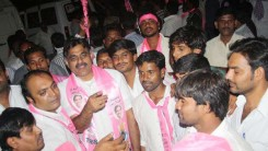 KCR Welcome Rally (TRS Office to Gunpark) 1