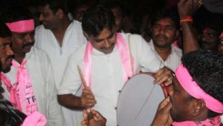 KCR Welcome Rally (TRS Office to Gunpark) 4