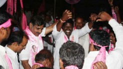 KCR Welcome Rally (TRS Office to Gunpark) 5