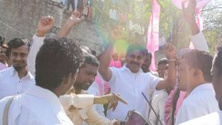 KCR Welcome Rally (TRS Office to Gunpark) 8