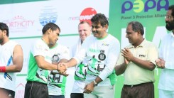 Konda Vishweshwar Reddy Participates in  Harithon - The Green Run 16