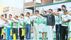 Konda Vishweshwar Reddy Participates in  Harithon - The Green Run 18