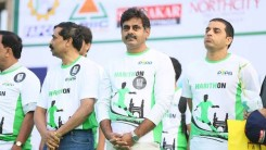 Konda Vishweshwar Reddy Participates in  Harithon - The Green Run 6