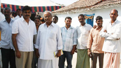 Konda Vishweshwar Reddy attends Jothirling Maha Shiva Puja at Solipet