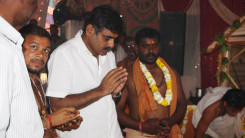 Konda Vishweshwar Reddy attends Jothirling Maha Shiva Puja at Solipet 2