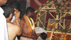 Konda Vishweshwar Reddy attends Jothirling Maha Shiva Puja at Solipet 4