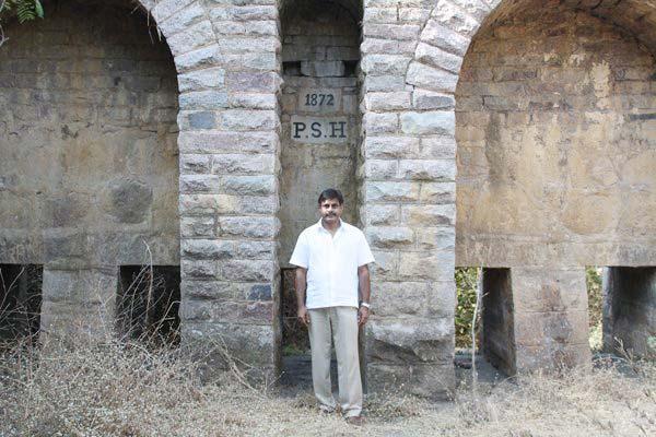 Konda Vishweshwar Reddy visits Chandavelli Bridge 5