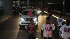 Party Members Received Konda Vishweshar Reddy in Air Port Feb-24-14 (14)