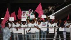 Party Members Received Konda Vishweshar Reddy in Air Port Feb-24-14 (3)
