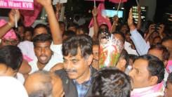 Party Members Received Konda Vishweshar Reddy in Air Port Feb-24-14 (5)