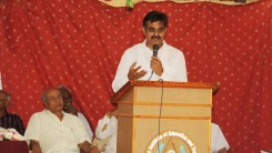 Konda Vishweshwar Reddy attends Irrigation Engineers meet at Vikarabad 1