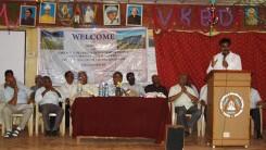 Konda Vishweshwar Reddy attends Irrigation Engineers meet at Vikarabad