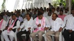 Konda Vishweshwar Reddy attends Sardar Putam Purshotam Rao sanmanam at Saroornagar