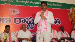 Konda Vishweshwar Reddy attends Shankarpally members joining in to the TRs party at TRS Bhavan 1