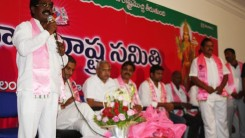 Konda Vishweshwar Reddy attends Shankarpally members joining in to the TRs party at TRS Bhavan 2