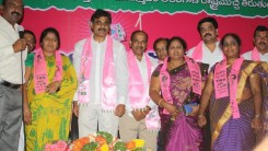 Konda Vishweshwar Reddy attends Sherlingampally RMP Doctors Union and Rajaka Sangam members Join in TRS party at TRS Bhavan 1