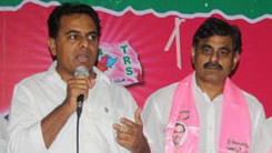 Konda Vishweshwar Reddy attends Sherlingampally RMP Doctors Union and Rajaka Sangam members Join in TRS party at TRS Bhavan 245 x 138