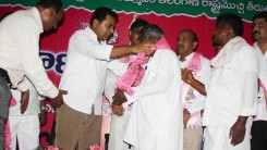Konda Vishweshwar Reddy attends Sherlingampally RMP Doctors Union and Rajaka Sangam members Join in TRS party at TRS Bhavan 3