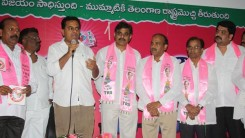 Konda Vishweshwar Reddy attends Sherlingampally RMP Doctors Union and Rajaka Sangam members Join in TRS party at TRS Bhavan 4