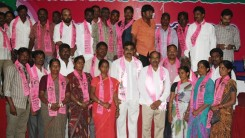 Konda Vishweshwar Reddy attends Sherlingampally RMP Doctors Union and Rajaka Sangam members Join in TRS party at TRS Bhavan 6