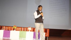 Konda Vishweshwar Reddy attends Womens Day program at Tech Mahindra Hitech City 4
