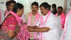 Konda Vishweshwar Reddy attends member joining into the party at Vikarabad 1