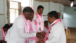 Konda Vishweshwar Reddy attends member joining into the party at Vikarabad 5