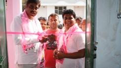 Konda Vishweshwar Reddy attends party office opening in Shivareddypet