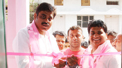 Konda Vishweshwar Reddy attends party office opening in Shivareddypet 245x138