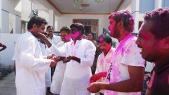 Konda Vishweshwar Reddy in Holi celebrations 10
