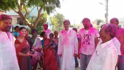 Konda Vishweshwar Reddy in Holi celebrations 3