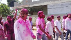 Konda Vishweshwar Reddy in Holi celebrations 4