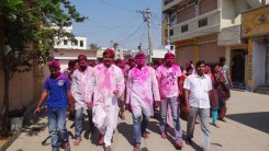 Konda Vishweshwar Reddy in Holi celebrations 5