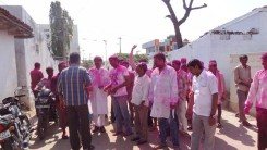 Konda Vishweshwar Reddy in Holi celebrations 6