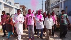 Konda Vishweshwar Reddy in Holi celebrations 7