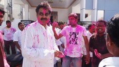Konda Vishweshwar Reddy in Holi celebrations 8