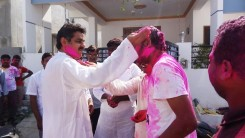 Konda Vishweshwar Reddy in Holi celebrations 9