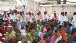 Konda Vishweshwar Reddy participates interaction with Kethireddy pally Villagers 1