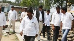 Konda Vishweshwar Reddy visits Namaste Telangana Press Reporter Narsimhulu family