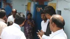 Konda Vishweshwar Reddy visits Namaste Telangana Press Reporter Narsimhulu family 8