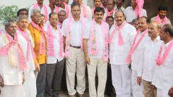 Konda Vishweshwar Reddy welcomes new members into the party 1