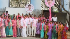 Konda Vishweshwar Reddy welcomes new members into the party
