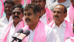 Konda Vishweshwar Reddy welcome's new members into the party at Chevella 3