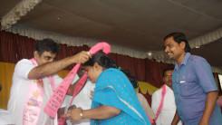 Konda Vishweshwar Reddy welcome's new members into the party at Vikarabad 1