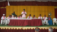 Konda Vishweshwar Reddy welcome's new members into the party at Vikarabad 13