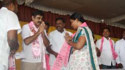 Konda Vishweshwar Reddy welcome's new members into the party at Vikarabad